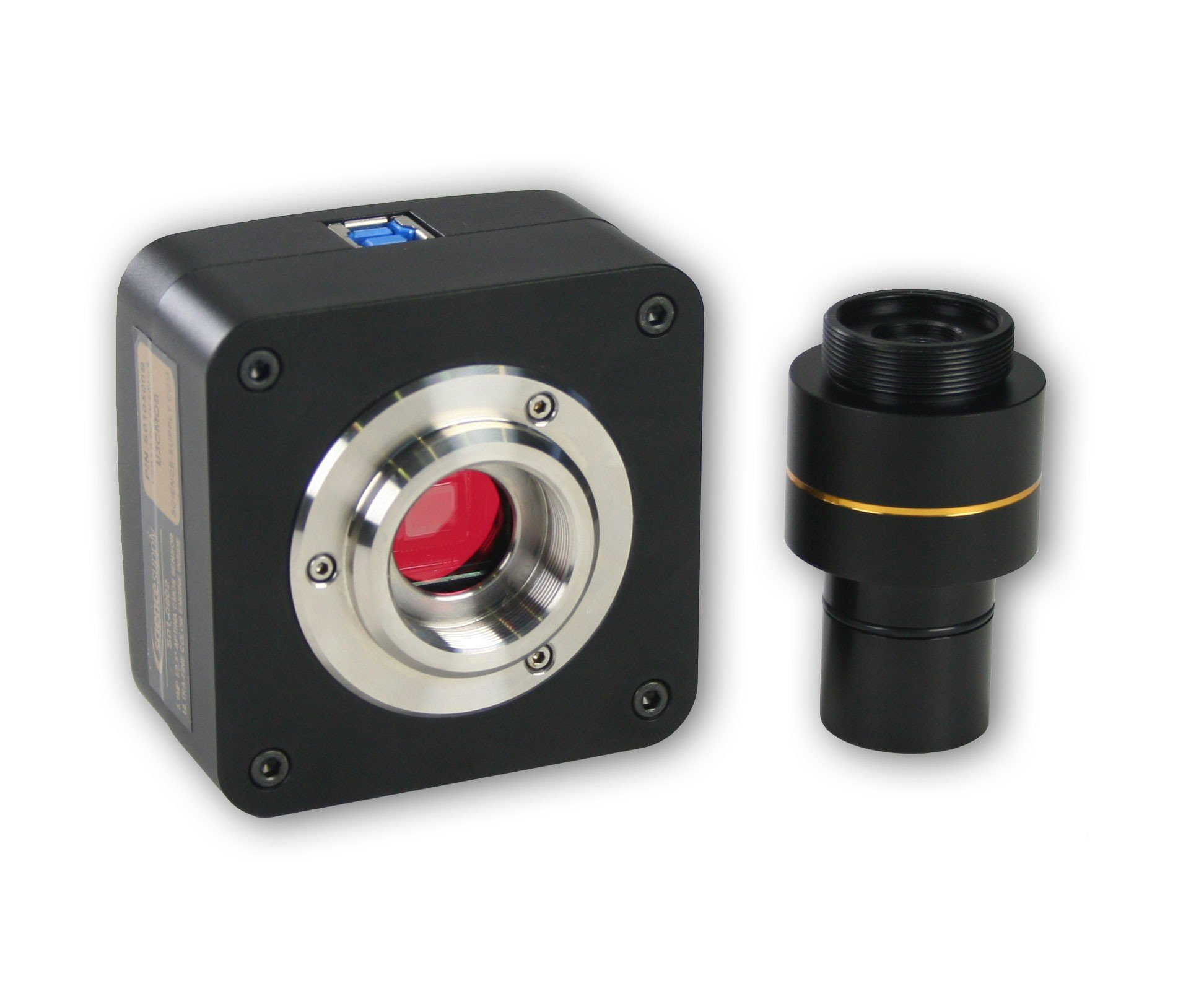 Digital 5.0MP Microscope Camera for Compound and Stereo Microscopes (USB 3.0)