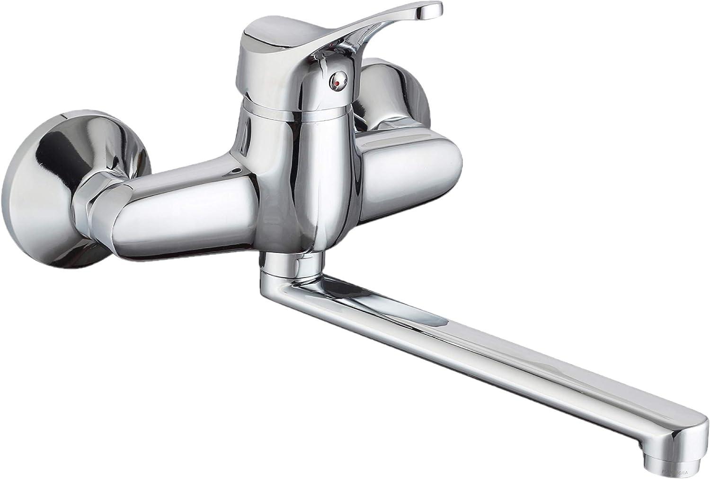 Spültischarmatur Wandarmatur Wasserhahn Spülbeckenarmatur Küchenarmatur  Einhebelmischer Küche Armatur