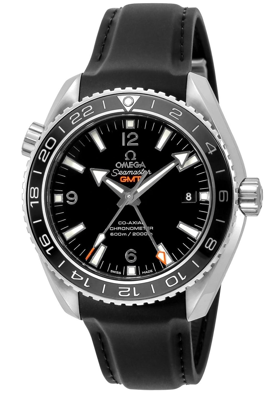 [オメガ]OMEGA 腕時計 Seamaster Planet Ocean ブラック文字盤 コーアクシャル自動巻き 600m防水 232.32.44.22.01.001 メンズ 【並行輸入品】 B07717B8W6