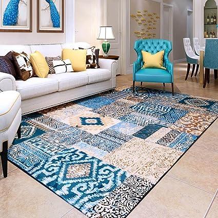 Amazon com: European Mediterranean Style Rug, Modern