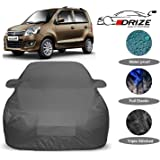 DRIZE™ Maruti Suzuki Wagonr/Wagon r Car Cover with Triple Stitched Fully Elastic Ultra Surface Body Protection (Military Look)
