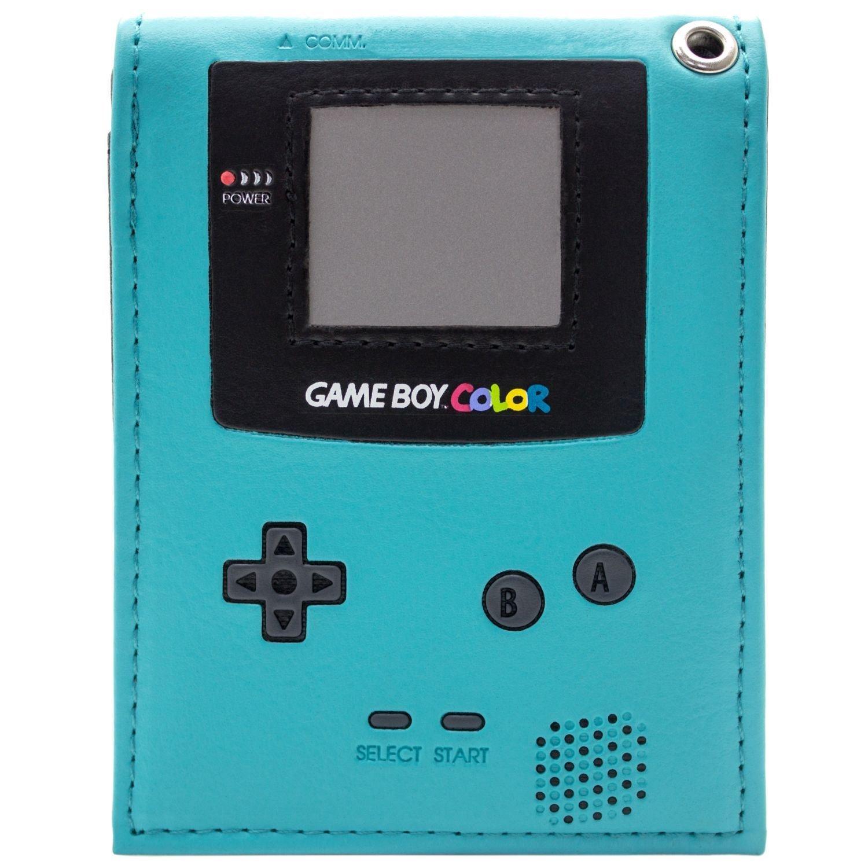 Cartera de Retro Game Boy Color Consola portátil Teal 29464