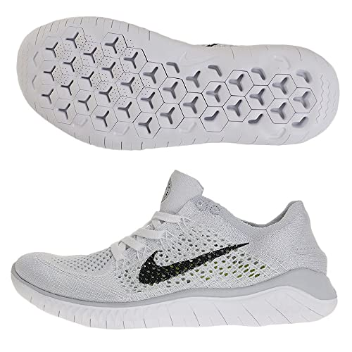 Nike Wmns Free RN Flyknit 2018, Zapatillas para Mujer