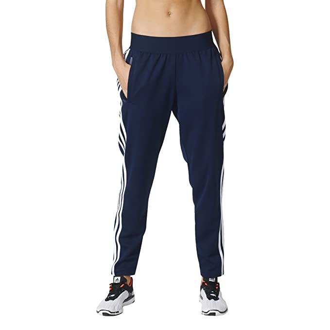 adidas Womens 3 Stripe Tapered Pants at Amazon Women's ...
