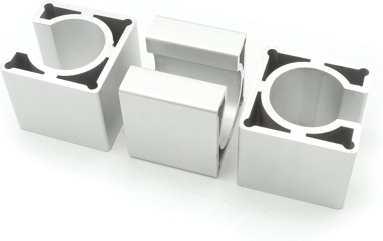 RATTMMOTOR 3 PCS Aluminium Mounting Bracket 57 Stepper Motor Mount for for CNC Router Engraving//Milling Maschine