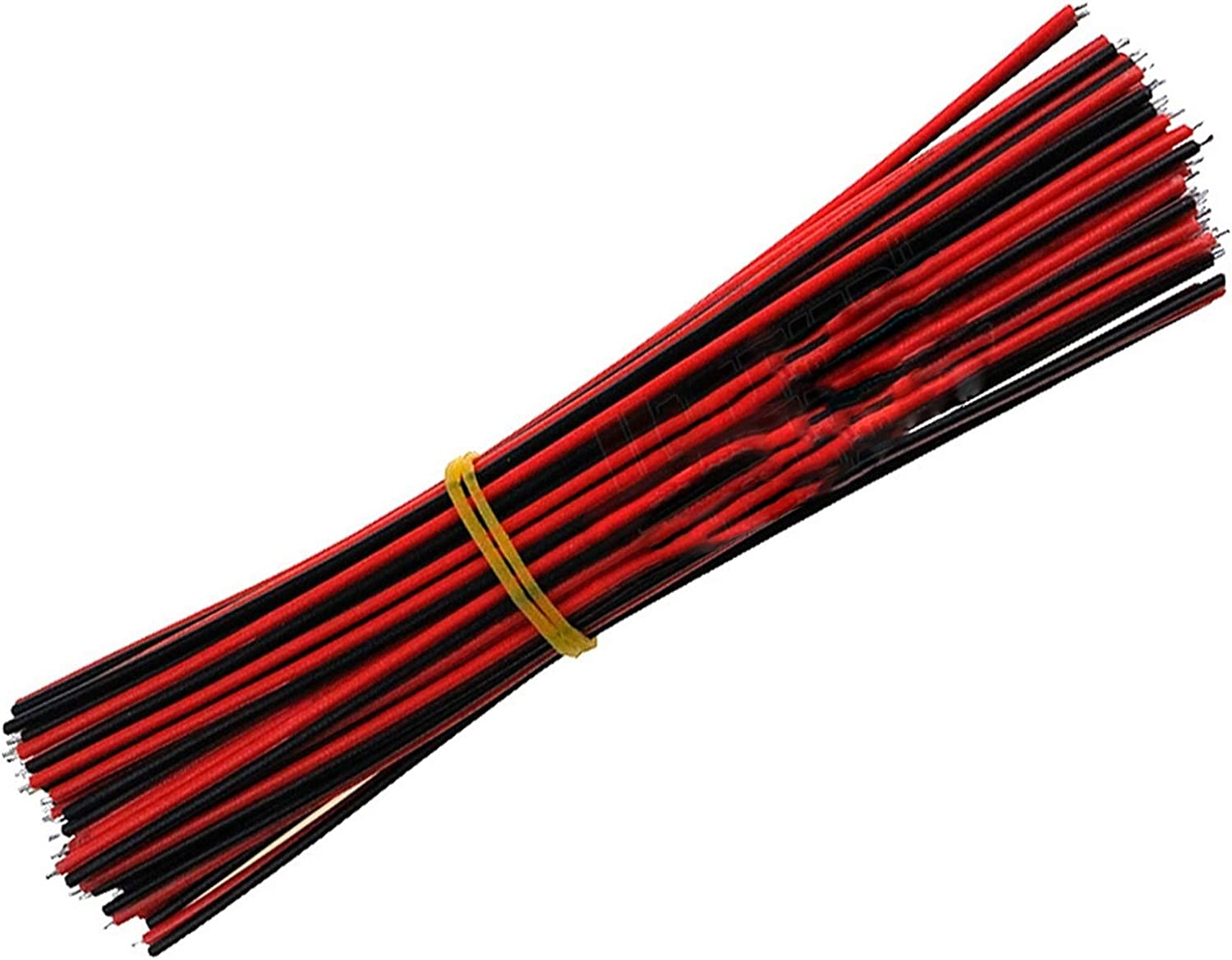 Red Black Wire AGW22 Thinned Copper Wire 2pin Wire Cable 40PCS Electronic Cablb Extend Wire for Sound Power Tool Accessories 10CM PYouo-Copper Wire