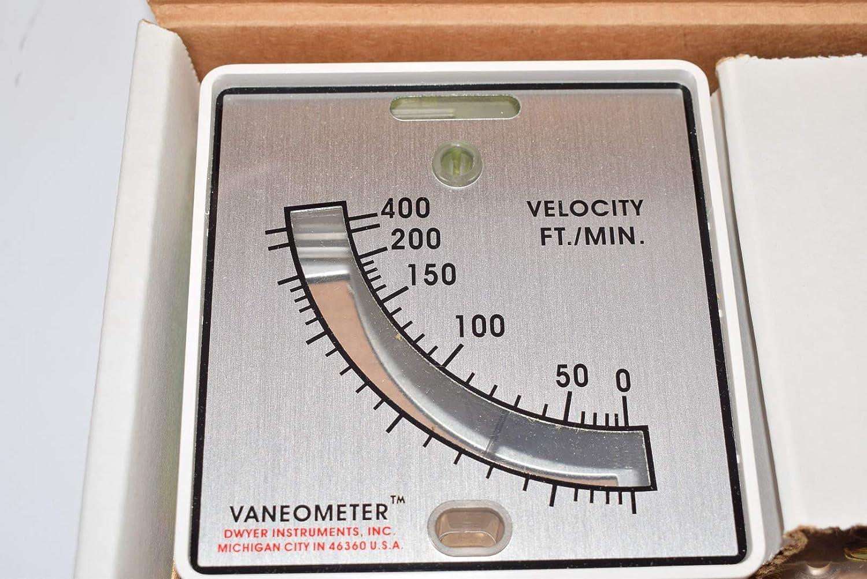 DWYER INSTRUMENTS 480 Anemometer,25 to 400 fpm