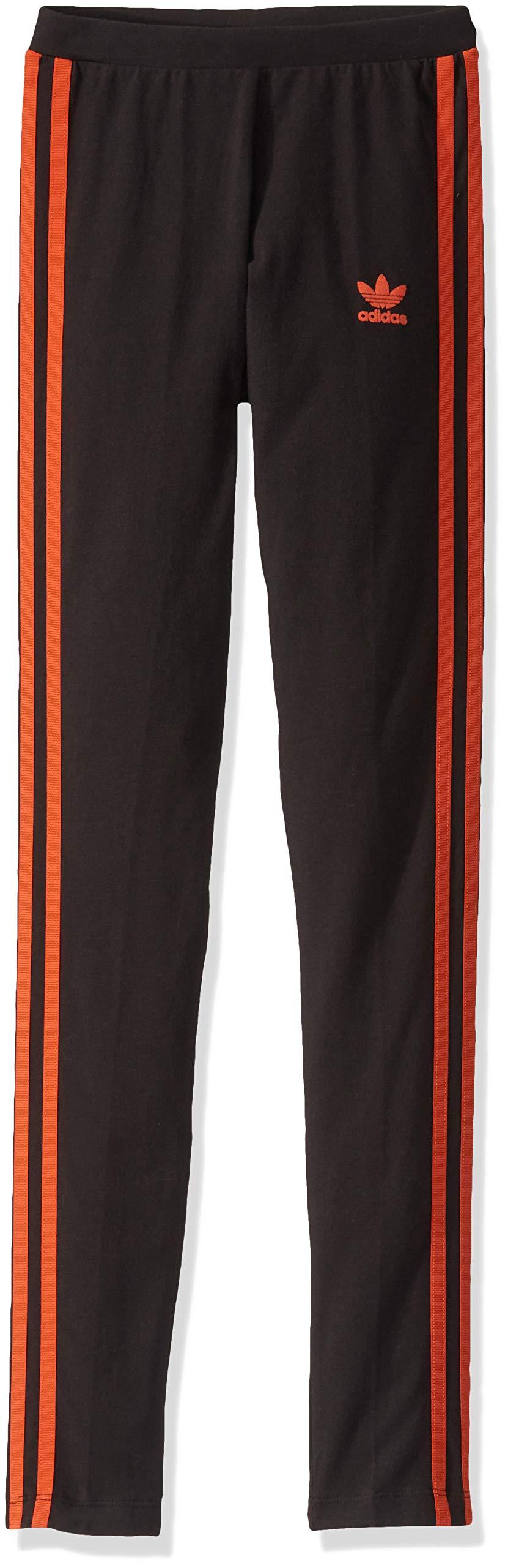adidas Originals Women's 3 Stripes Legging, White/Black, XX-Small by adidas Originals