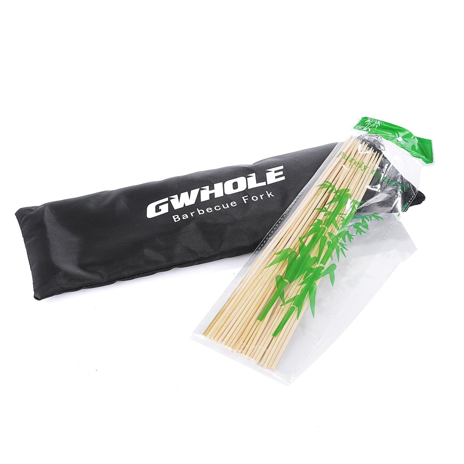 GWHOLE Marshmallow Roasting Sticks,32 Inches Telescoping Smores Skewers for Hotdog Camping Set of 8