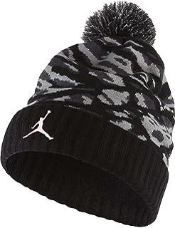99076f28748 Amazon.com  Kids  Jordan Go 2-3 Stripe Pom Beanie  Sports   Outdoors