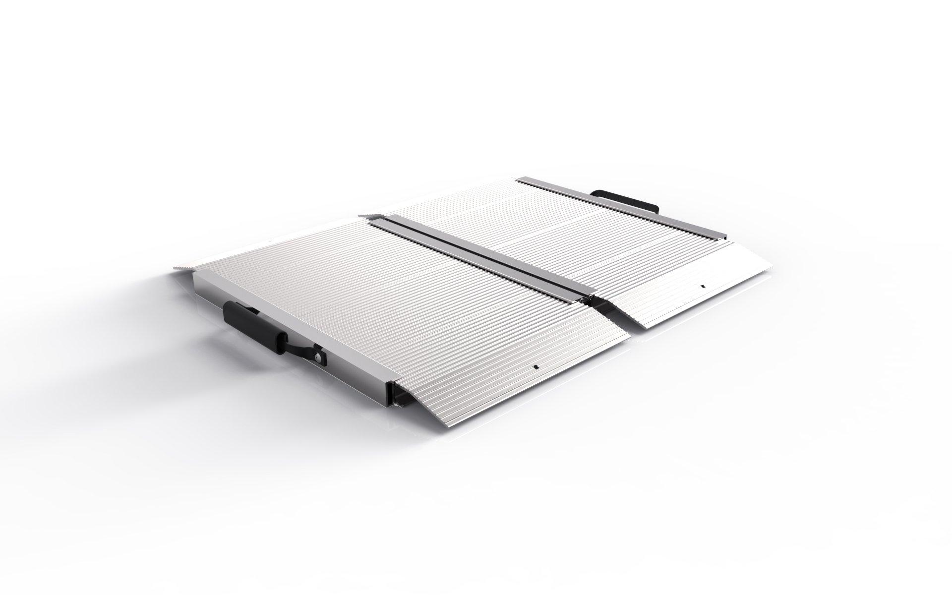 EZ-ACCESS TRAVERSE SFEL02 Single Fold Edgeless Ramp, 2', 1600 lb. Capacity, 24'' Length, 31'' Width, 1.575'' Height