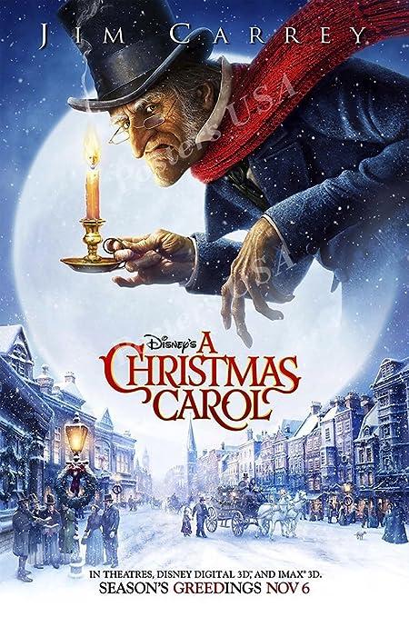 A Christmas Carol Poster.Amazon Com Posters Usa Disney Classic A Christmas Carol Jim