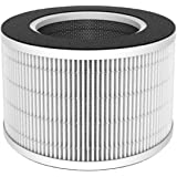 AROVEC AV-P300 Smart Compact Air Purifier Replacement Filter, 4-in-1 Nylon Pre-Filter, True HEPA Filter, High-Efficiency Activated Carbon Filter, PP Net Filter, AV-P300RF, (1Pack)