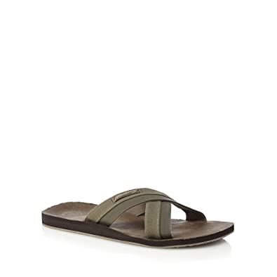 cheap buy authentic Khaki 'Costa Teguise' slip-on sandals cheap deals outlet cost cheap get to buy amazon xeSKUA