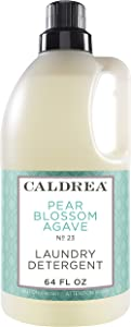 Caldrea Pear Blossom Agave Laundry Detergent 64 oz