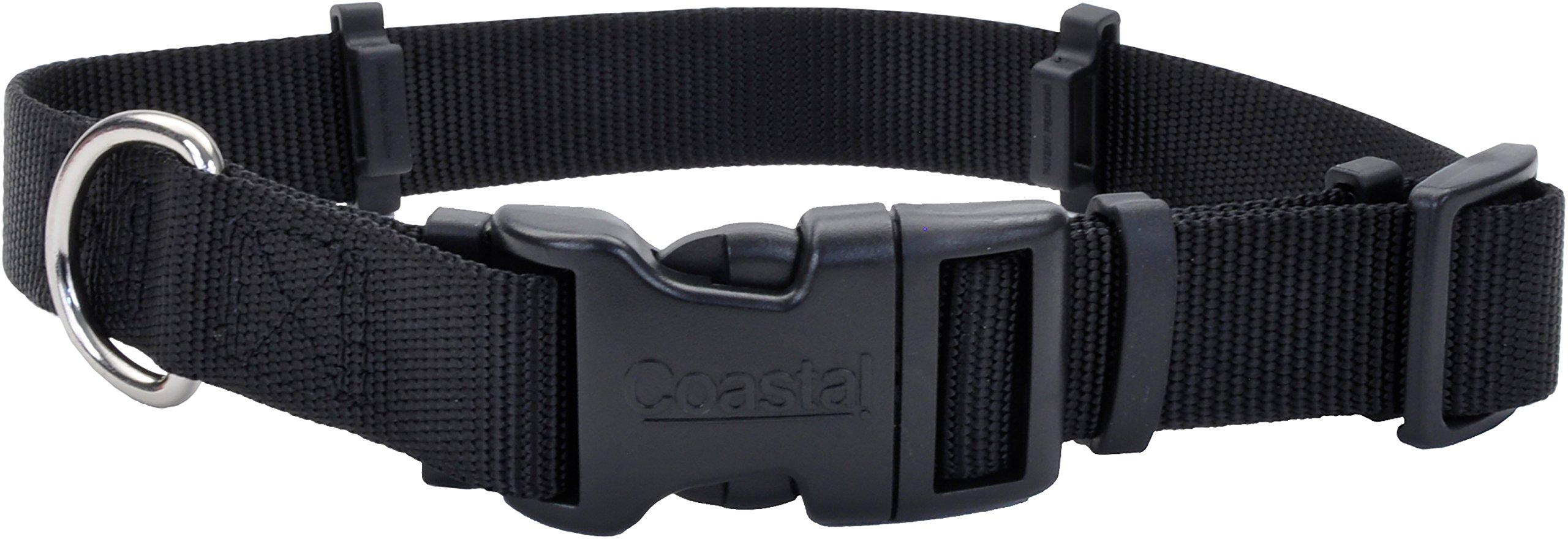 Coastal Pet Products 06142 BLK12 Flea Collar Protector, 0.625'' x 12'' X-Small, Black