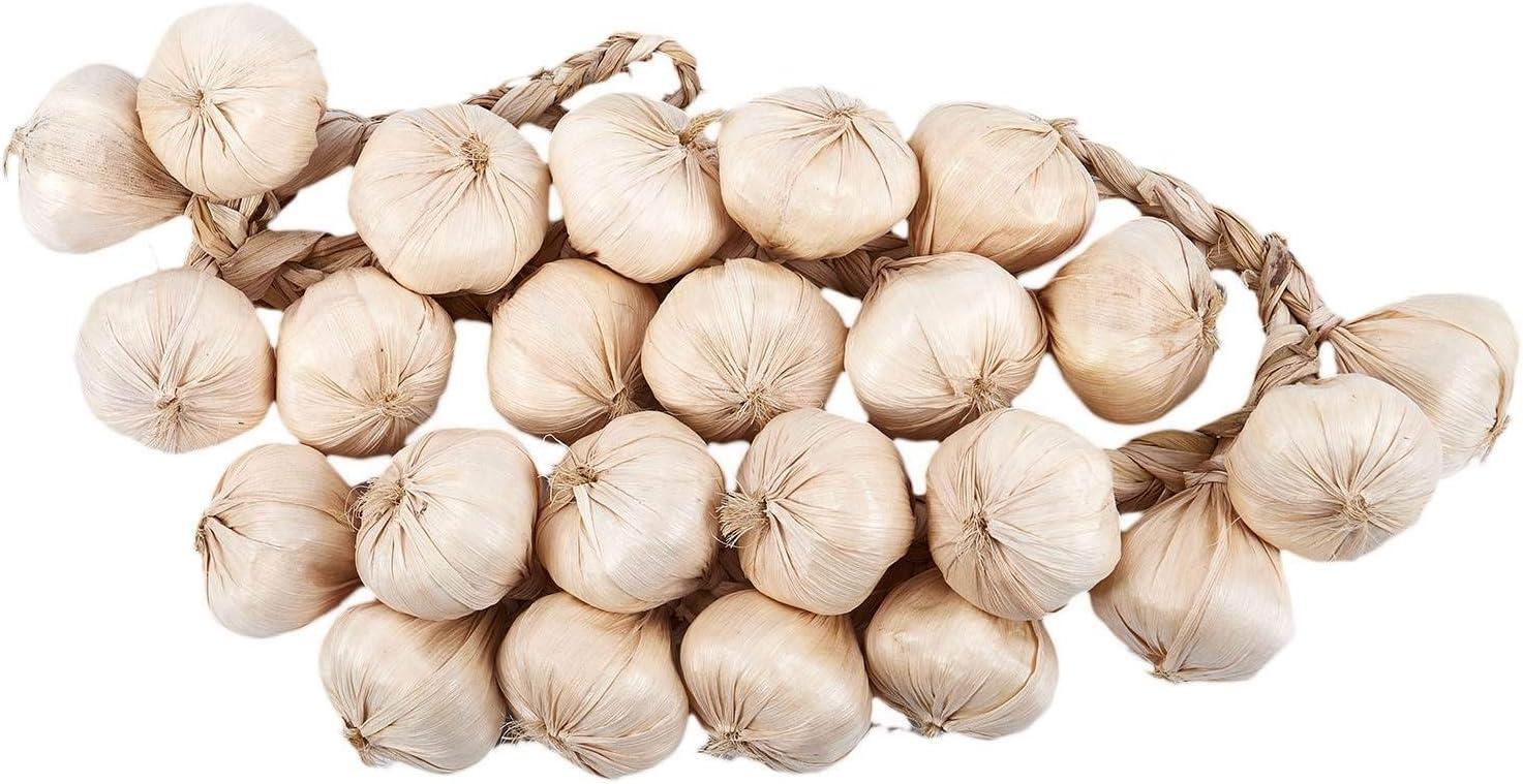 Camisin Garlic Strings//Artificial Vegetables//Artificial Garlic Accessory 46cm 1 Pair