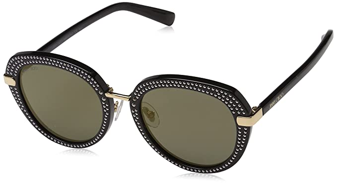 Jimmy Choo Mujer MORI/S K1 2M2 52 Gafas de sol, Negro (Black ...