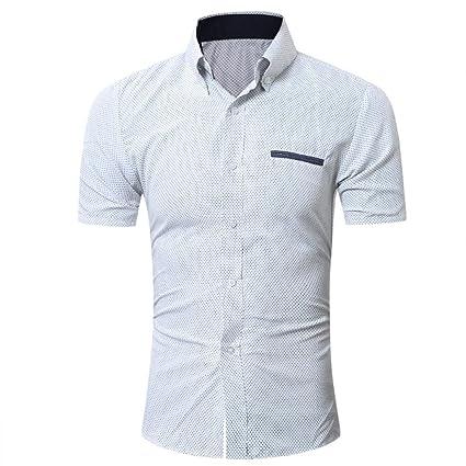 Tee Shirts hombre, Sonnena verano o cuello camisa de manga corta ...