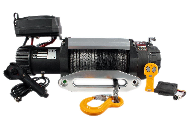 Raw Machine Elektrische Seilwinde E6.8S 15000LB 12V Offroad ...