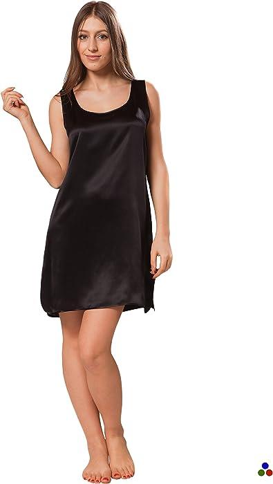 ElleSilk Women s Silk Nightwear 9d982f92d