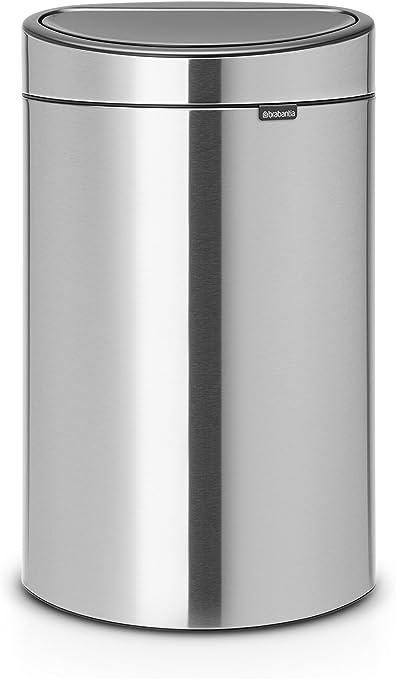Brabantia a pédale newicon 20 L Mat Steel Durable Poubelle Soft Close