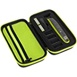 Fromsky Hard Case for Philips Norelco OneBlade QP2520, QP2530, QP2620, QP2630, Travel Case Protective Cover Storage Bag for O