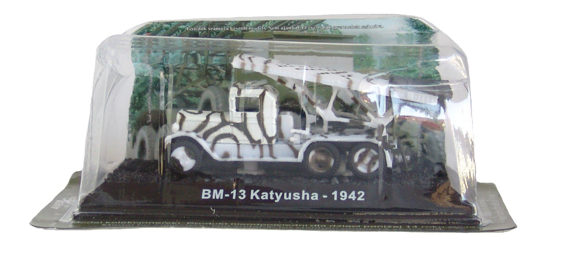 BM-13 Katyusha - 1942 diecast 1:72 model (Amercom BG-54)