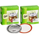 Ball Regular Mouth Mason Jar Lids (24-Count)