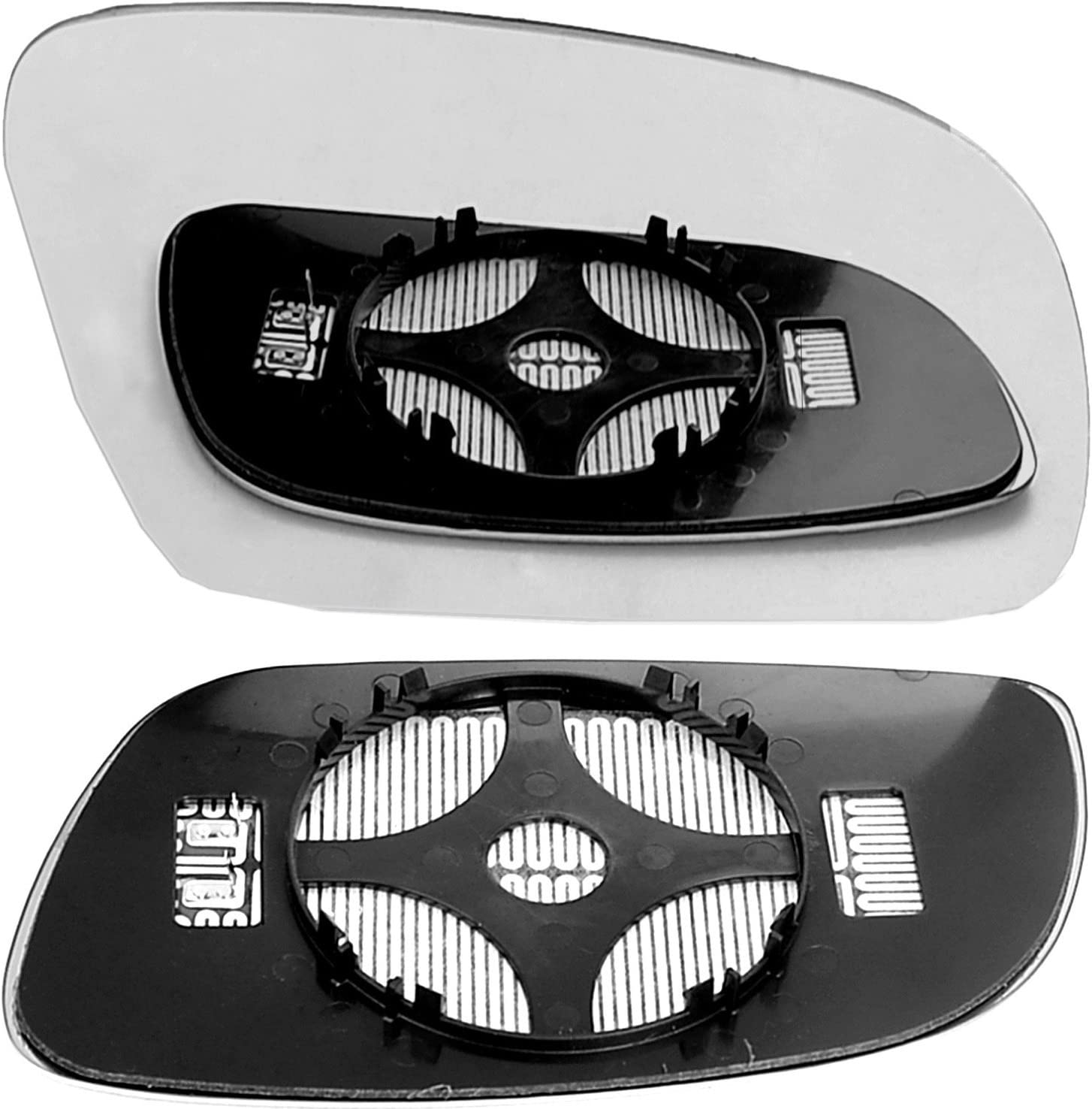 Heated Right Driver Side Wing Door Clip on Mirror Glass Less4Spares I029-RH/_tou/_c clip