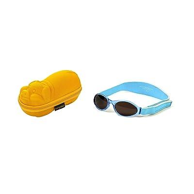 Coffret cadeau de bébé Lunettes de soleil Etui Porcelet D Or et BabyBanz  Aqua Lunettes de soleil 0-2 ans 83f450c08f06