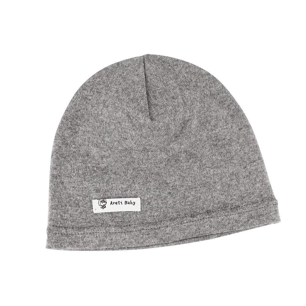 Lacofia 2 piezas Sombrero de Beanie de 100/% algod/ón para beb/é ni/ños Gorro tejer de las beb/é de esencial Azul oscuro S
