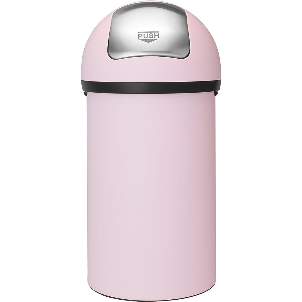 Brabantia Push Bin 60 Litre Pastel Pink