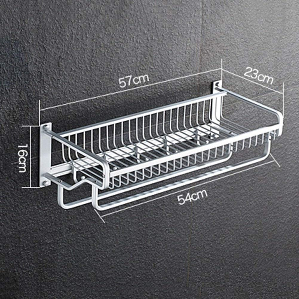 Rustproof Bathroom Rack Wall Mount Storage Rack for Bathroom Creative Bathroom Shelf