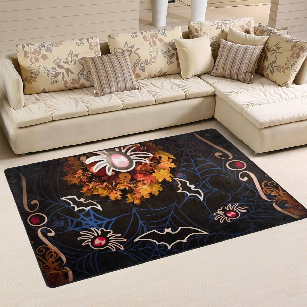 DEYYA Home Decor Non-Slip Area Rugs Pad Cover 60 x 39 Inch