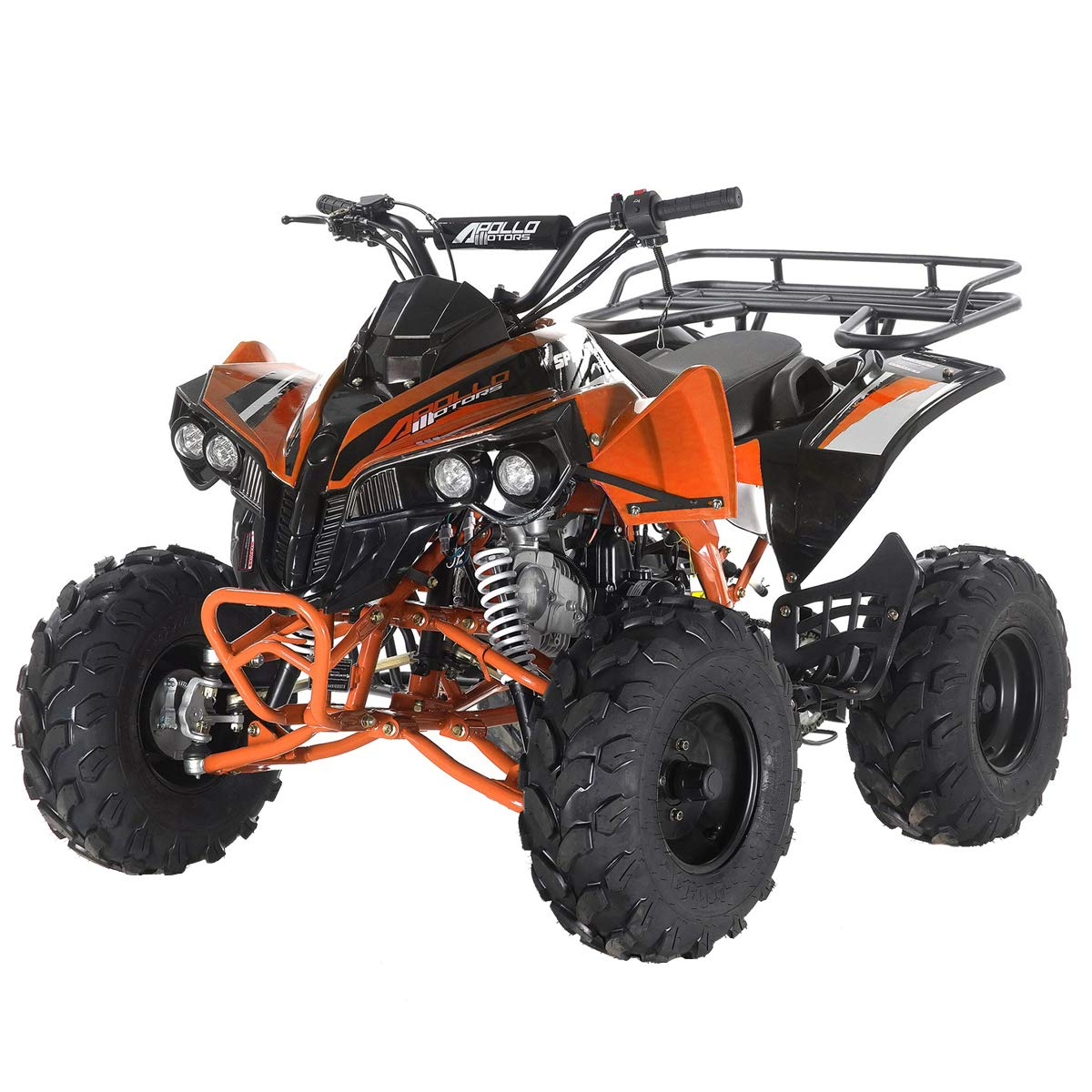 X-Pro 125cc ATV Quad Youth 4 Wheeler 125cc Adults ATVs Quads 4 Wheelers with Gloves Goggle and Handgrip