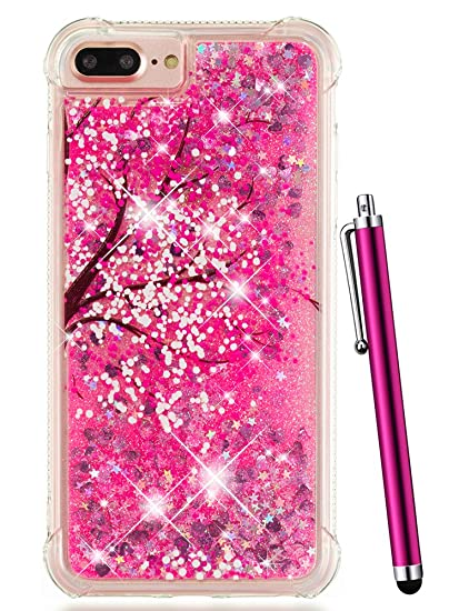 8ee3c7fbf2 Amazon.com: iPhone 7 Plus Case Glitter, iPhone 8 Plus Case for Women ...