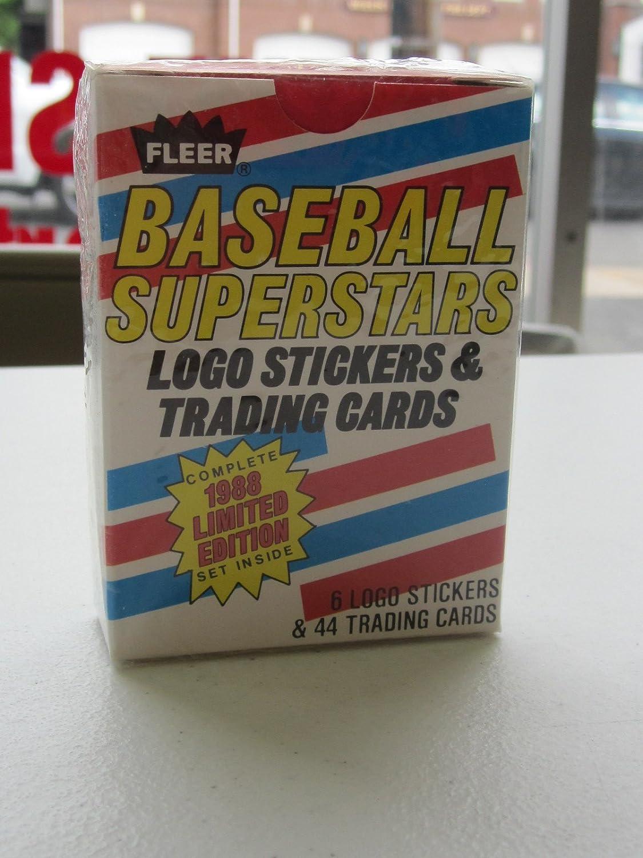 1988 Fleer Baseball Superstars Factory Sealed Complete Set Logo