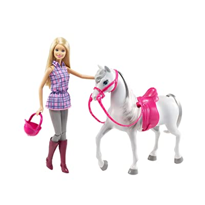 Barbie Doll & Horse: Toys & Games