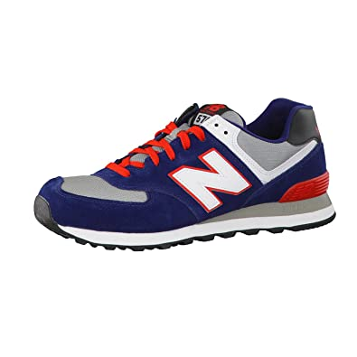 new balance ml574 d sneakers blau