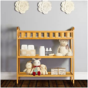 Strange Amazon Com Baby Changing Station Table Dresser 2 Shelves Interior Design Ideas Apansoteloinfo