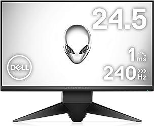 Dell ゲーミングディスプレイ モニター ALIENWARE AW2518HF 24.5インチ/FHD/TN 240Hz/1ms FreeSync/DP,HDMIx2/USBハブ/3年間保証