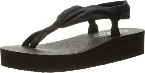 Skechers Womens Vinyasa d-Loop Wedge Sandal