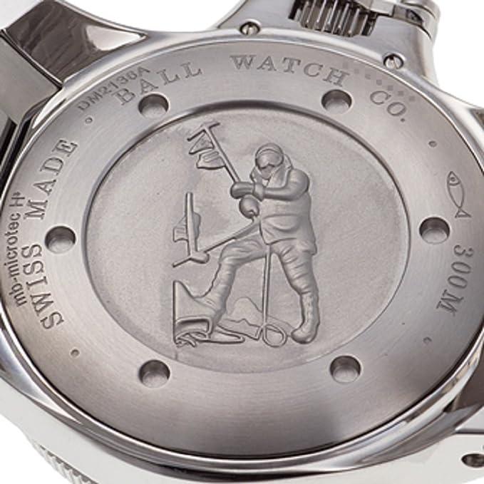 Amazon.com: Ball Engineer Hydrocarbon Watch Ceramic Xv Black Dial 300m COSC ETA 2892 DM2136A-SC-BK: Watches