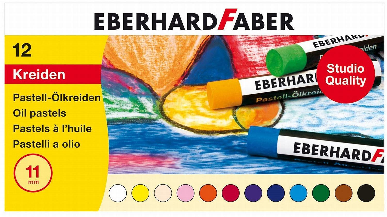 Eberhard Faber 522012 - Pastell Ölkreide 12er, Kartonetui