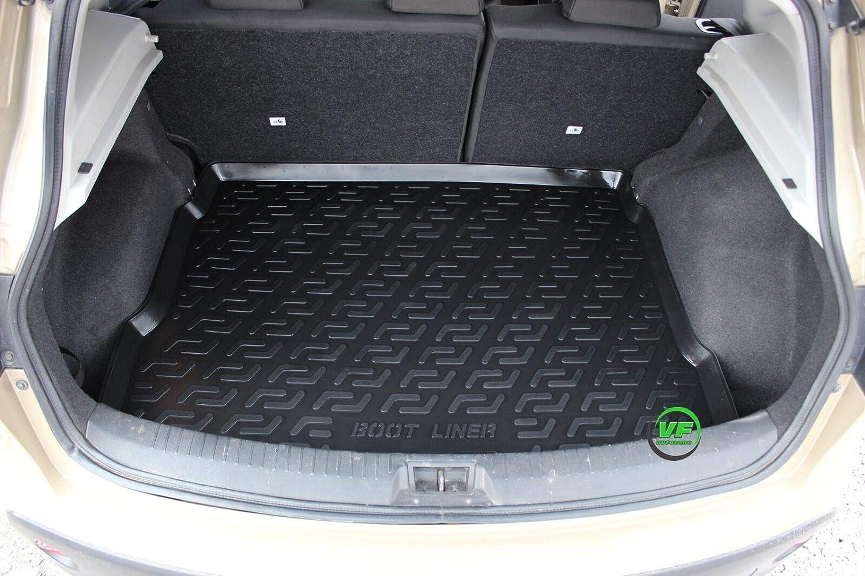 J/&J AUTOMOTIVE Premium Antirutsch Gummi-Kofferraumwanne f/ür alle Nissan Qashqai J10 2007-2013