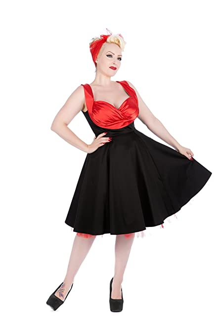 Saloon Girl Costume | Victorian Burlesque Dresses & History Hearts & Roses Hot on Top Dress (Shipped from The US and US Sizes) $64.88 AT vintagedancer.com