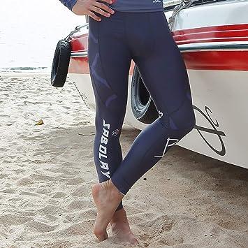 Xasclnis Traje de triatlón para Hombre: Traje de Neopreno de Cuerpo Completo diseñado para Nadar en Aguas Abiertas (Color : Pants, Size : XXXL)