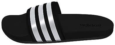 adidas Adilette CF Ultra Stripes, Chaussures de Sports Aquatiques Femme - Noir (Core Black/FTWR White/Core Black), 40.5 EU