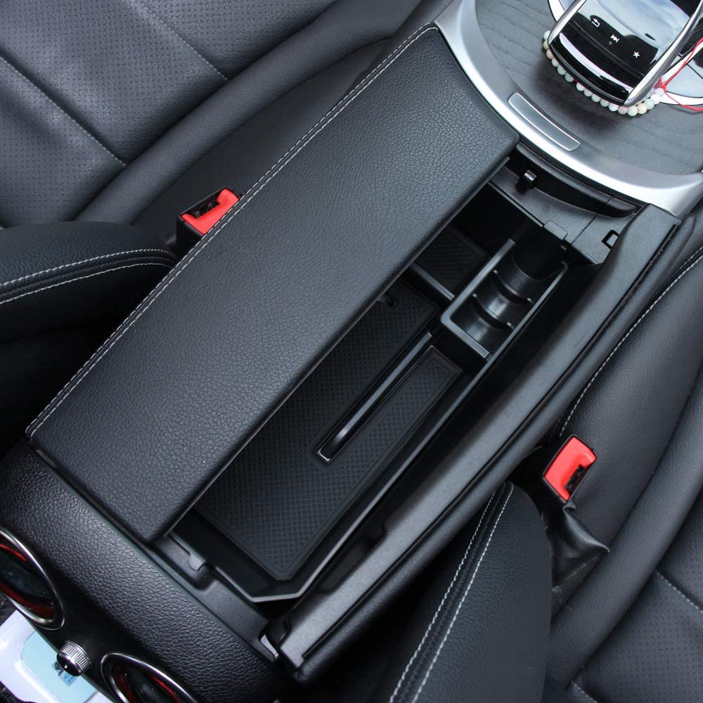 Console Car Central Armrest Storage Box Container